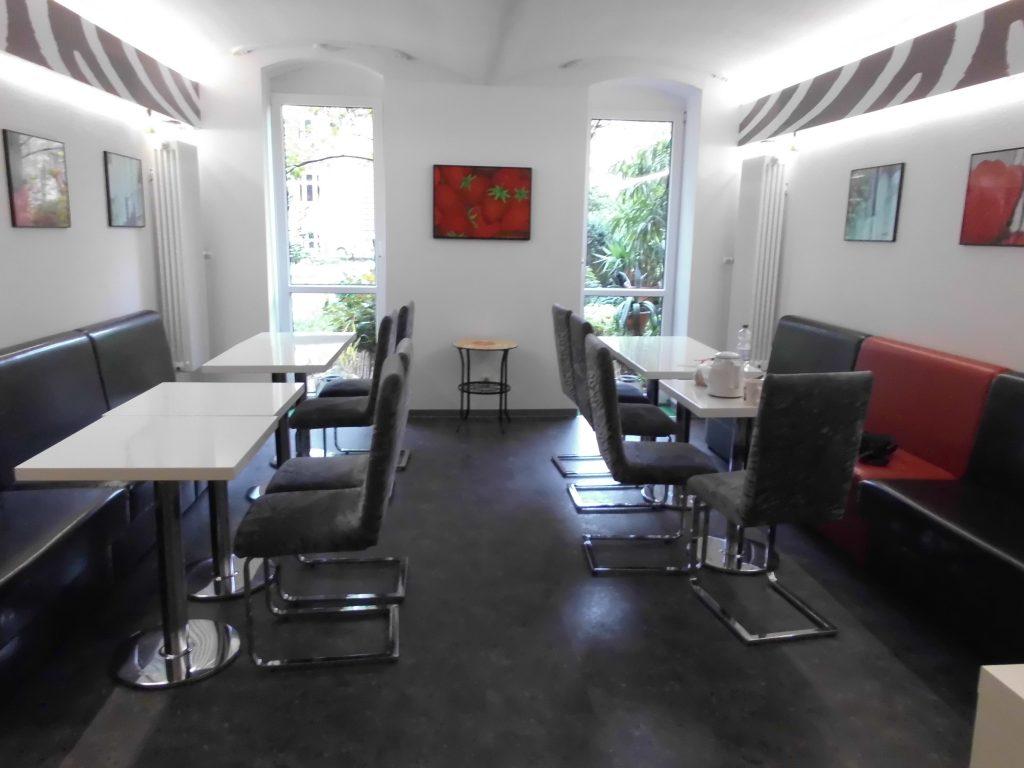Innenansicht Aufenthaltsraum und Lounge